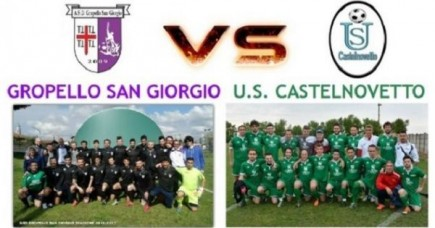 Terza Categoria: presentazione Gropello S.G. - Castelnovetto